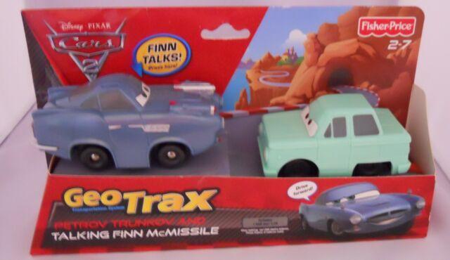 geotrax disney pixar cars 2 petrov trunkov talking finn