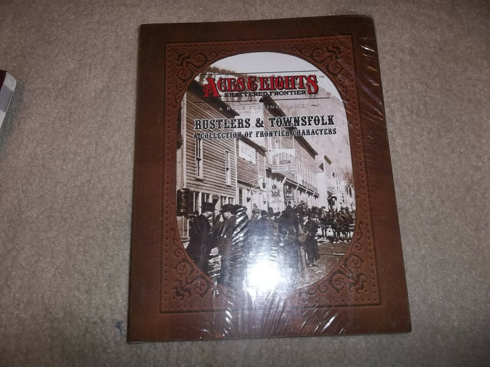 Aces & Eights Shattered Frontier RPG Rustlers & Townsfolk Townsfolk Townsfolk SW f1c02e