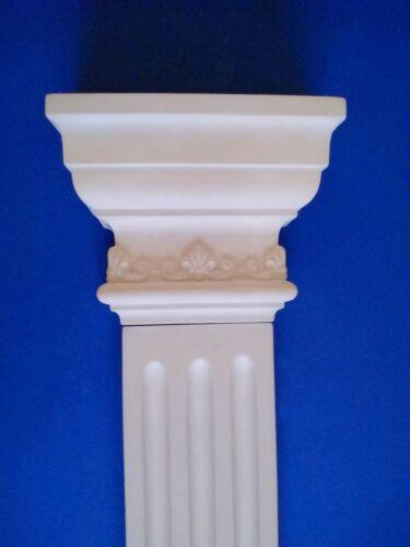 4 Pilaster aus Stuckgips Nr