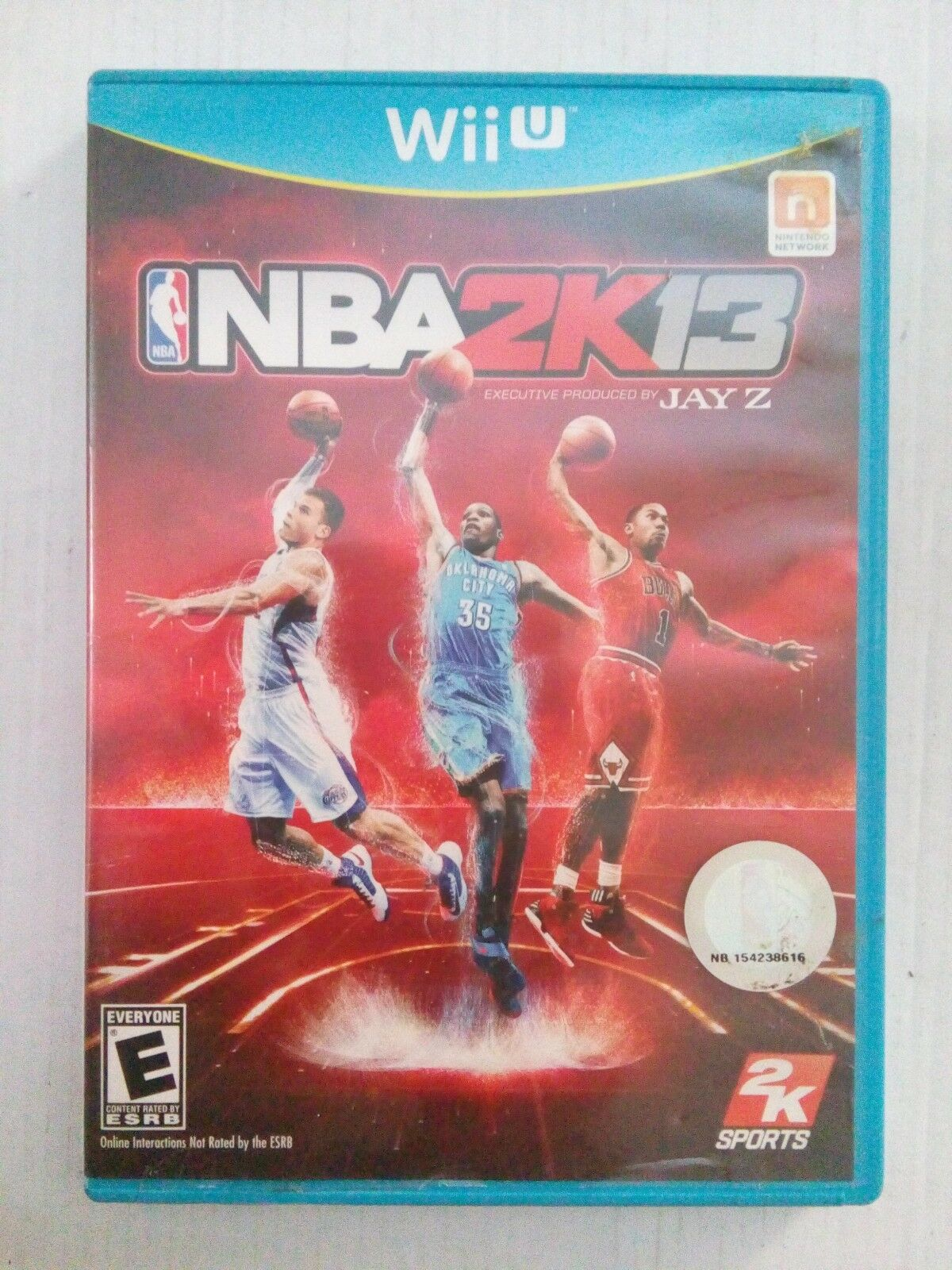 NBA 2K13 (Nintendo Wii U 9a78af3bbd640