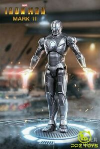 ZD-Toys-Iron-Man-MK-2-Mark-II-7-039-034-Action-Figur-Marvel-MCU-Modell-Spielzeug-Original