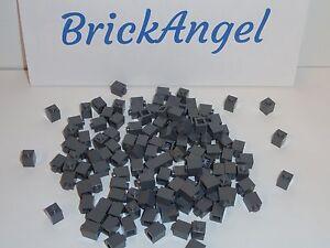New Genuine Lego Lot 100 Dark Bluish Gray 1 x 1 3005