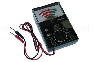 Universal-Batterie-testeur-avec-analogique-echelles-affichage-Affichage-Appareil-de-mesure
