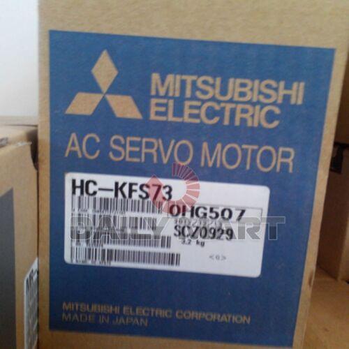 Mitsubishi HC-KFS73 HCKFS73 750W AC Servo Motor Original New in Box Free Ship