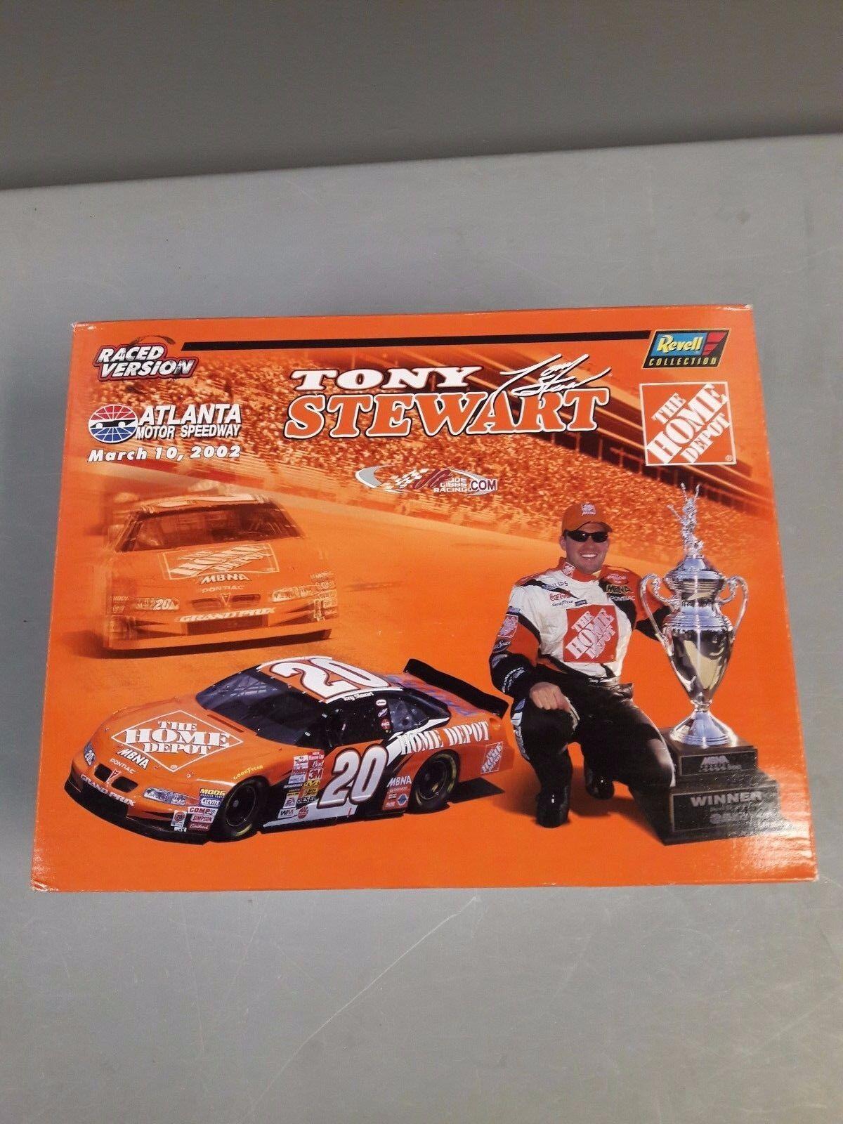 TONY Stewart 2002 Atlanta WIN CORSO VERSIONE HOME Depot con Btuttierino C22