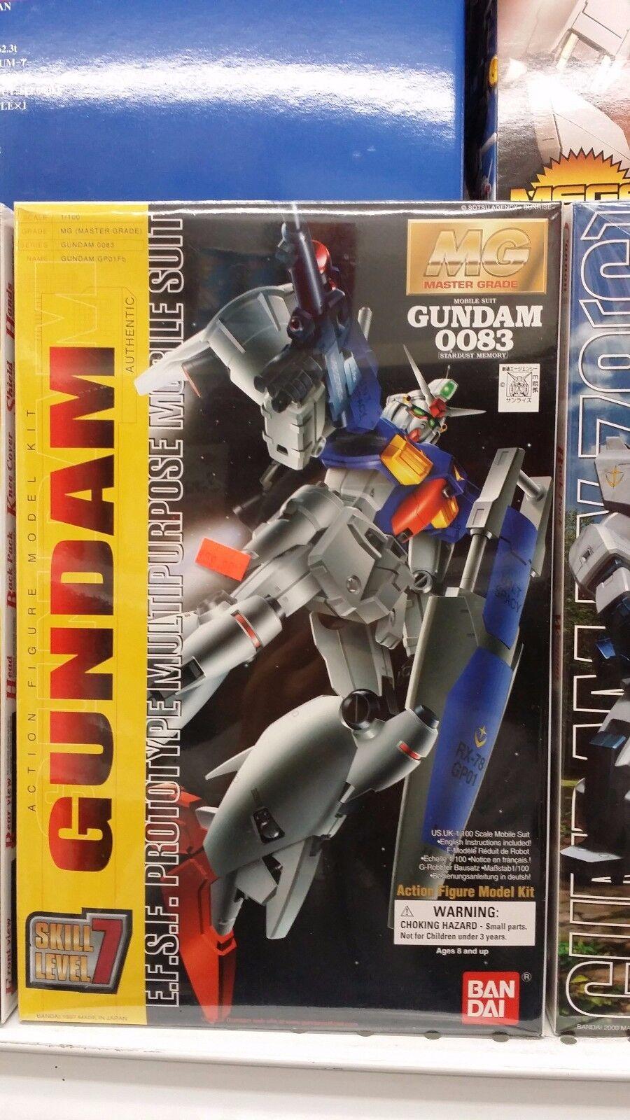 BRAND NEW BANDAI 1 100 MG GUNDAM RX-78 GP01Fb Gundam GP01 Full Vernian [CAN SHIP