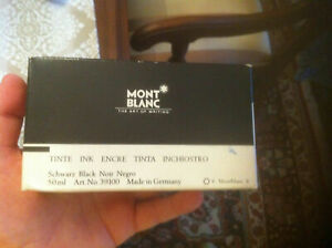 Fountain-Pen-Montblanc-Ink-1-2-full-Box-is-ripped-torn-on-the-side