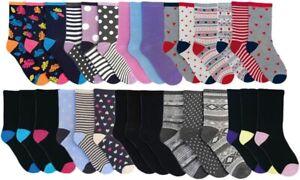 4-7 12 x LADIES COTTON NON ELASTIC SOCKS DESIGNER DIABETIC EASY GRIP SOFT TOP