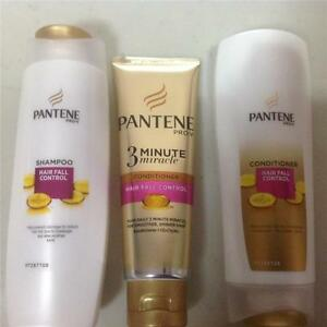 1 SET OF PANTENE PROV SHAMPOO, CONDITIONER AND 3 MINUTE MIRACLE CONDITIONER  eBay