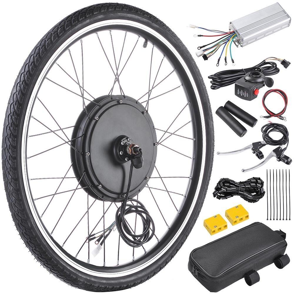 36V 500W 26  Rear Wheel Electric Bicycle Motor Kit E-Bike Cycling Conversion DIY