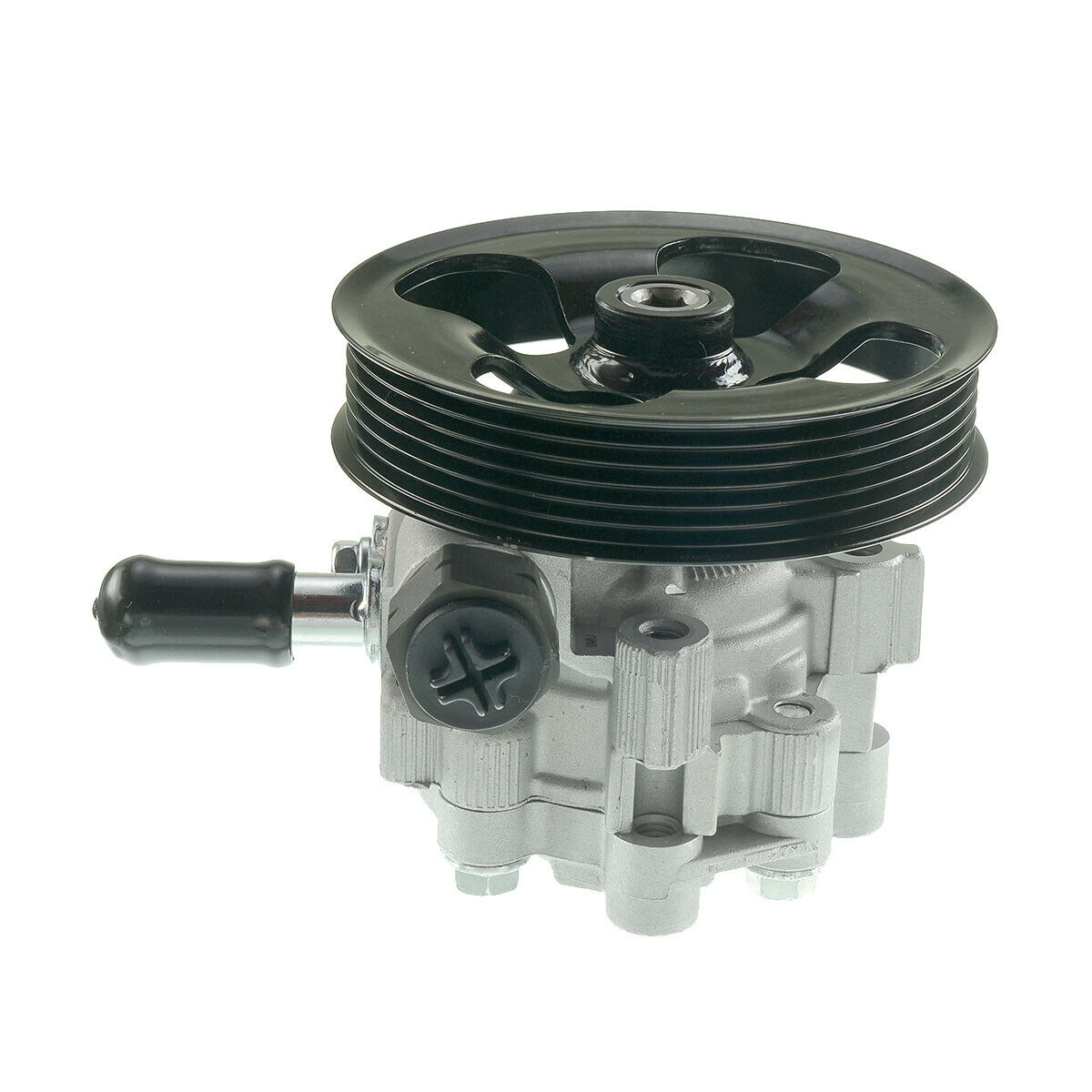 A-Premium Power Steering Pump with Pulley Compatible with Land Rover LR3 2005-2007 V6 4.0L