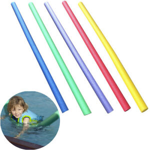 3c2f4bc3d6225 Details about Swimming Pool Noodle Foam Kids Adult Float Swim Aid Stick  Swimming Pool Play
