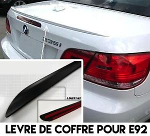 SPOILER BECQUET LEVRE COFFRE pour BMW E92 SERIE 3 COUPE 2006-2013 335d 335i M M3