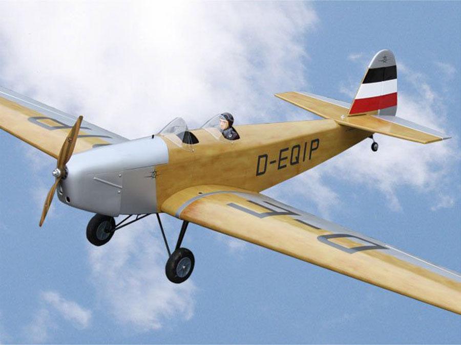 Pichler Klemm l25 2200mm ARF listo avión de modelo 2200mm Oldtimer x8686