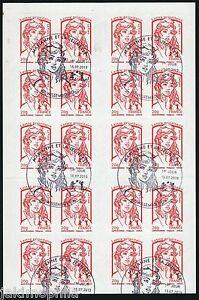 851-C 3 Carnet DAB LP 20g Marianne et la jeunesse 2013 obli 1er jour variété RE k2LDJBCv-07133238-170390135