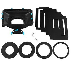 FOTGA DP3000 Pro matte box sunshade boards donuts f 15mm DSLR rod rail rig