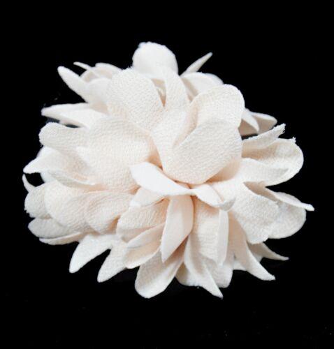 XL pelo cáncer pelo paréntesis perchero pelo flor pelo floración de tela 8 cm