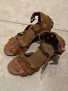 Gladiator Block Heels | Fs Heel