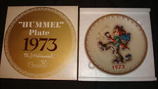 Vintage 1973 Goebel W. Germany Hummel Globe Trotter Annual Collector Plate Box