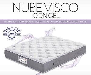 Colchon-Nube-Visco-Gel-105x190-Flex-entregado-en-domicilio