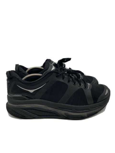 Hoka One One Valor Mens Running Shoes Sneakers Black Size 10.5