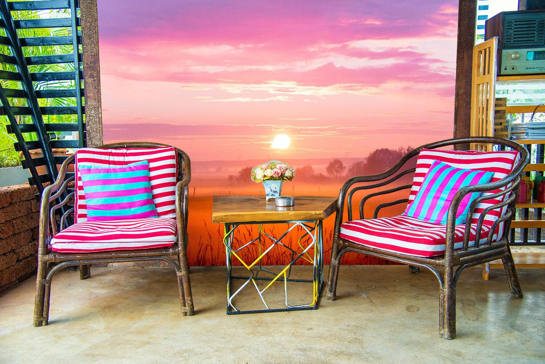 3D Natur Sonnenuntergang 73 Tapete Wandgemälde Tapete Tapeten Bild Familie DE
