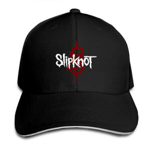 Slipknot-Rock-Snapback-Baseball-Hat-Adjustable-Cap