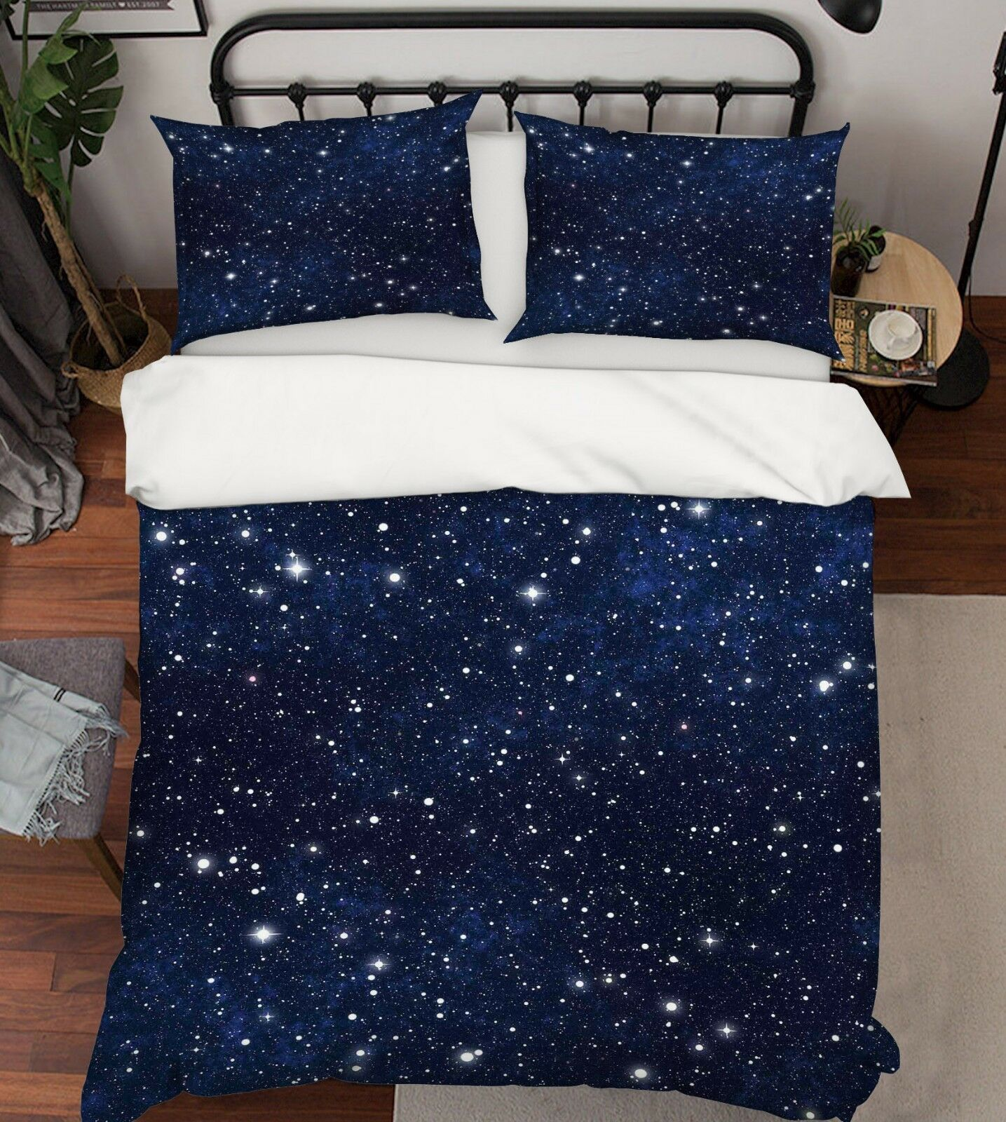 3d Ciel étoilé 5 lit housses de coussin steppes couette couvertures Set Single de