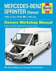 Mercedes Sprinter Van Service and Repair Manual by Haynes Publishing Group (Paperback, 2014)