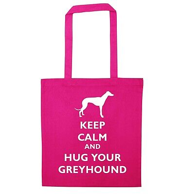 Keep calm and hug your Dalmation tote bag animal pet puppy dog paw love  537