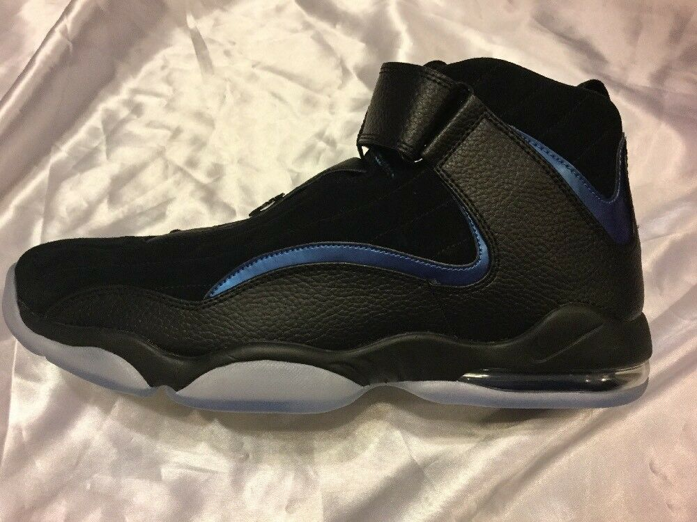 New Nike Air Penny 4 IV Black/ Noir With 9 Box Size 9 With 055d09