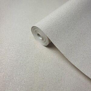 modern-Wallpaper-Cream-gold-metallic-textured-plain-embossed-faux-cloth-textile