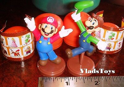 Furuta Choco Egg Super Mario Bros Collection Green Yoshi  Mint in Egg US Dealer
