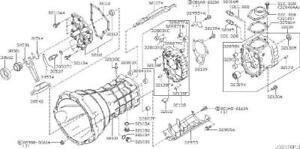 Nissan 30514-CD000 Clutch Release Bearing Clip
