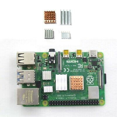 For Raspberry Pi Computer B Clear Case Box Model D Pi Protector Heatsink Set