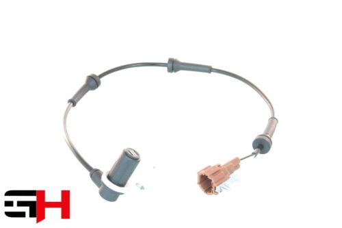 1 ABS Sensor HA HINTEN LINKS für NISSAN X-TRAIL NEU Bj 2001-08.2003 GH T30