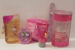 Set Bagno Hello Kitty.Dettagli Su Hello Kitty Set Bagno 6 Pezzi Profumo Bagnoschiuma Shampo Bomba Ombretto Lima