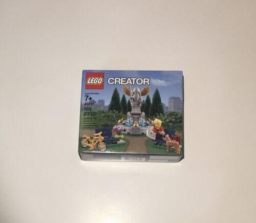Lego Creator Park Fountain 40221 Brand New In Box