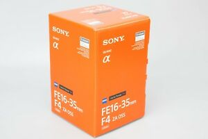 Sony Vario-Tessar T FE 16-35mm f/4 FE ZA OSS Lens for Zeiss