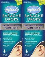 Hylands Homeopathic Earache Drops 0.33 Oz (paks Of2)