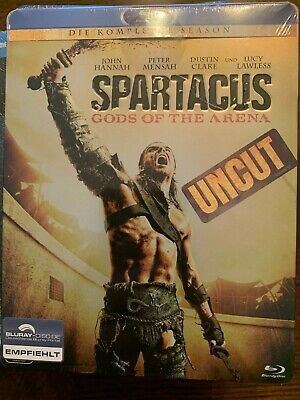SPARTACUS GODS OF THE ARENA Complete Season Uncut Bluray ...
