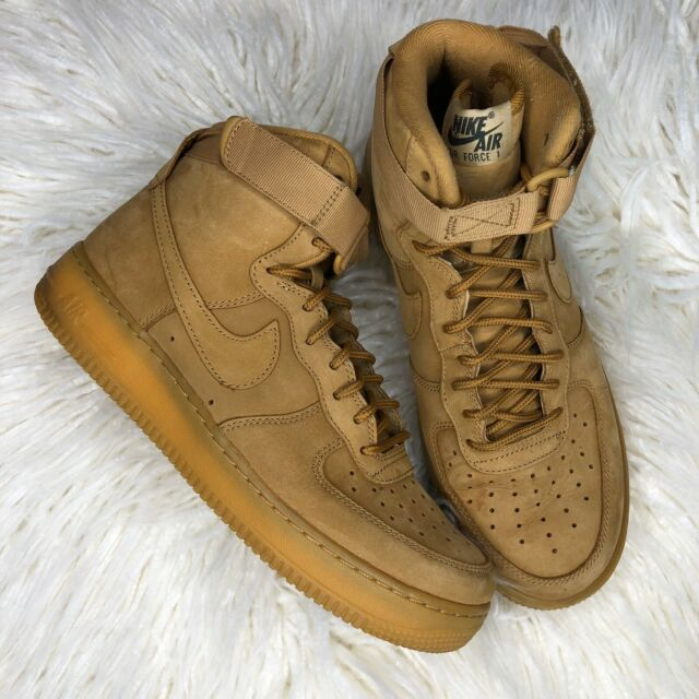 Size 8 - Nike Air Force 1 High Flax 2015 for sale online | eBay