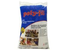 White 2 Pack Fairfield FAIPFT12 Fiber Poly Fil Bag 12 oz