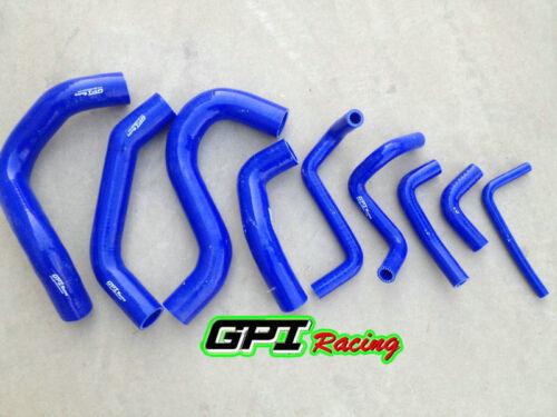 Blue Silicone coolant hose for Patrol Y60 GQ 2.8L RD28T Turbo Diesel 1994-1997