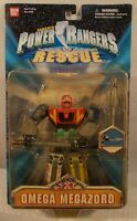 Power Rangers Lightspeed Rescue 6 Omega Megazord With Missile Firing Action