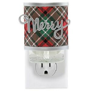 ☆☆YANKEE CANDLE MERRY PLUG IN DIFFUSER BASE☆☆☆FREE SHIPPING-- CHRISTMAS