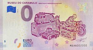 BILLET-0-EURO-MUSEO-DO-CARAMULO-2-PORTUGAL-2018-NUMERO-2000