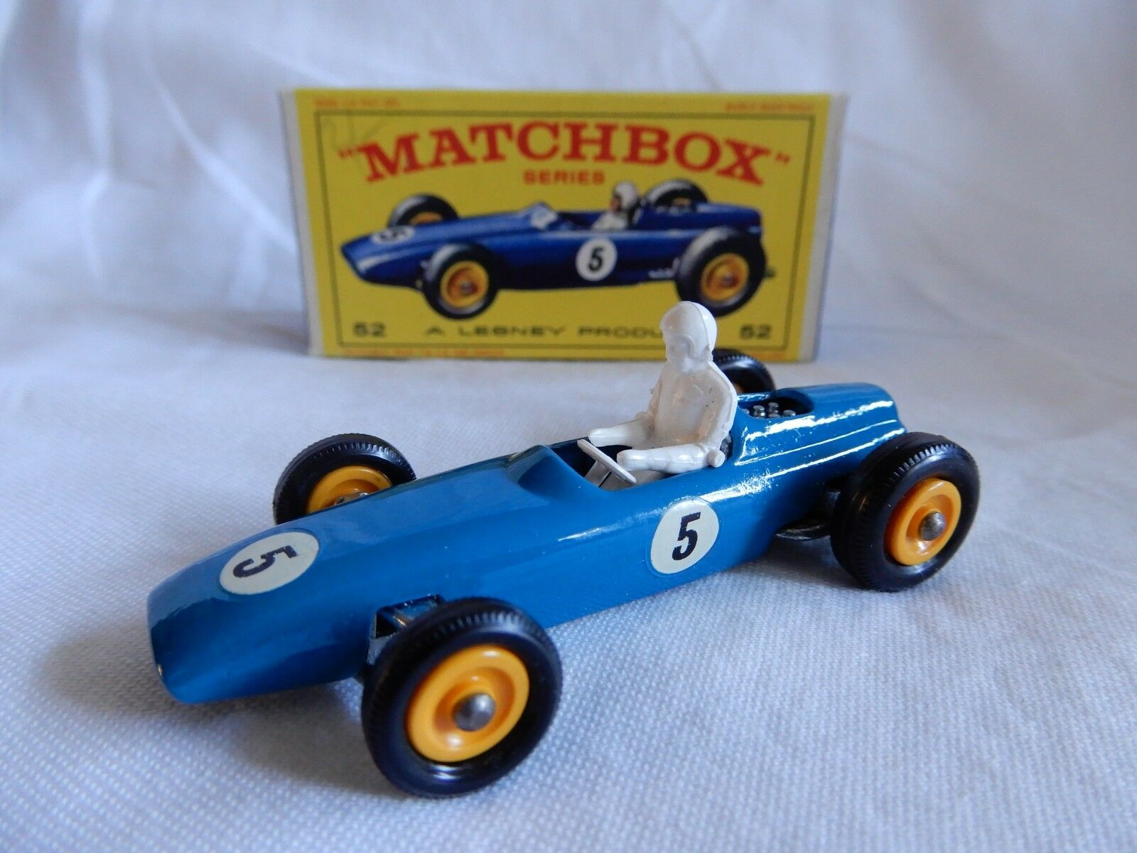 LESNEY MATCHBOX SERIES  BRM  52 CAR BOXED MADE IN ENGLAND GOOD CONDITION