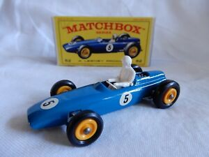 Lesney Matchbox Series    voiture 52 Boxed fabriqué en Angleterre bon état  brm