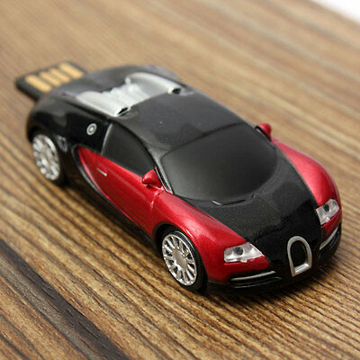 32GB Buggati Veyron Model USB 2.0 Flash Memory Stick Storage U Disk Gadget Gift